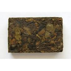 2006 Jingmai Mountain QiaoMu/Arbor Green Pu-erh Tea Brick 50g X 8