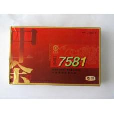 2013 COFCO CNNP Jingpin 7581 Pu-erh Tea Brick 500g