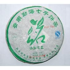 2009 American Hao 0909 Bada Green Pu-erh Tea Cake 357g