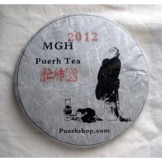 2012 MGH 1202 Mangfei Green Pu-erh Tea Cake 357g