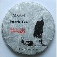 2011 MGH 1105 Mangfei Green Pu-erh Tea Cake 357g