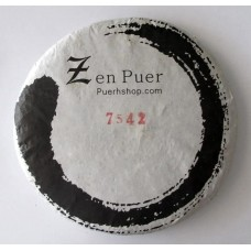 2014 Zenpuer 1402 (7542) Green Pu-erh Tea Cake 357g