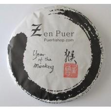 2016 Zenpuer Year of the Monkey Premium Pu-erh Tea Cake 357g